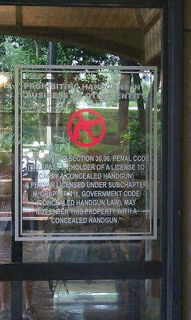 Embassy Suites by Hilton San Antonio - NW I-10: LEAGAL firearms NOT ALLOWED.