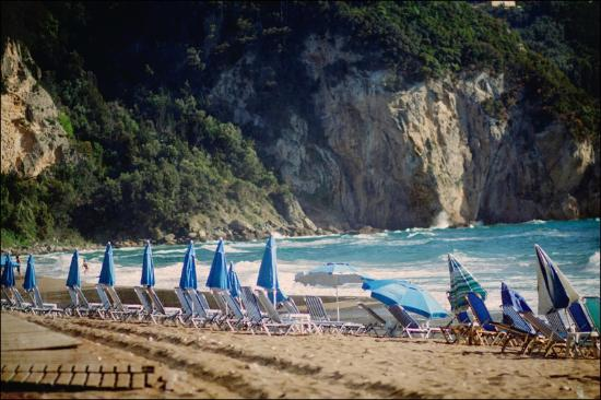 Agios Gordios, Hellas: Beach