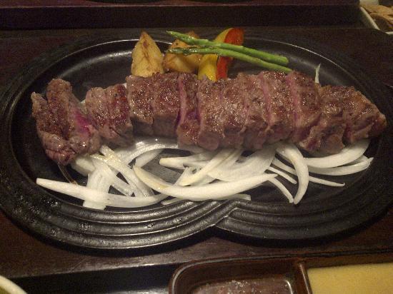 Gyuan: Sirloin Steak Course Meal (200gr.)