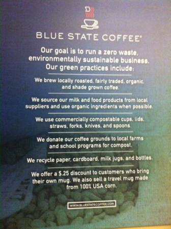 ‪Blue State Coffee‬