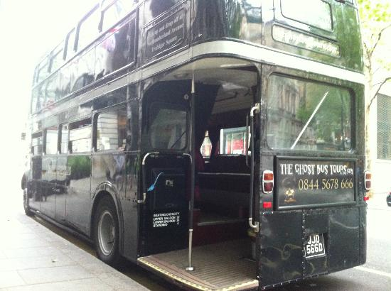 tour bus picture of the ghost bus tours london london tripadvisor. Black Bedroom Furniture Sets. Home Design Ideas