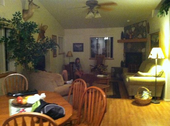 Comfi Cottages of Flagstaff: living room