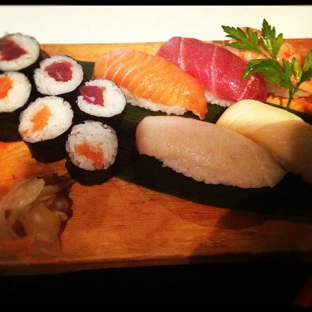 Wasabi: Sashimi lunch