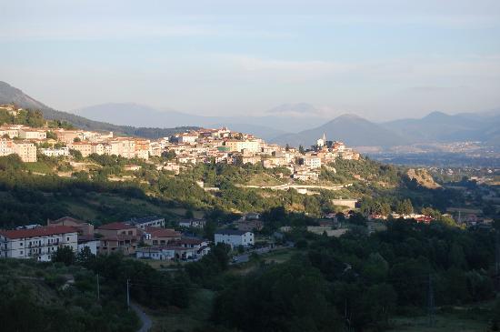 Il Castello: A general view of Marsico Nuovo from the hotel.