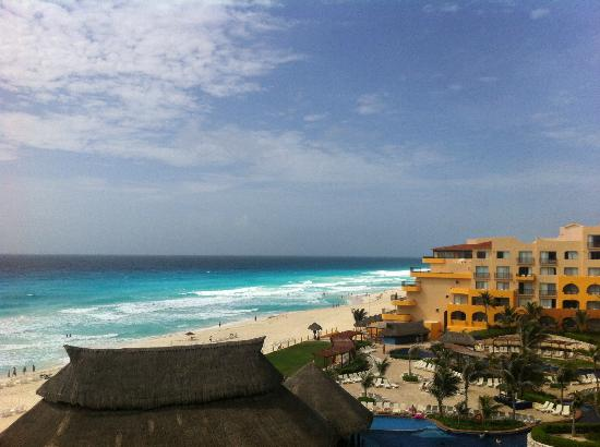Fiesta Americana Condesa Cancun All Inclusive : The ocean view from our room