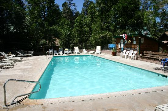 Arrowhead Pine Rose Cabins: Pool