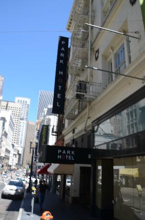 Park Hotel: View from Sutter Street