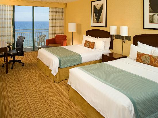 Courtyard Virginia Beach Oceanfront/South: 2 Double Beds