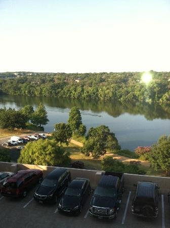 Holiday Inn Austin-Town Lake: View of Town Lake from our Room on 7th floor