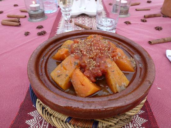 Dar Andamaure: La nostra succulenta Tajne nel Riad
