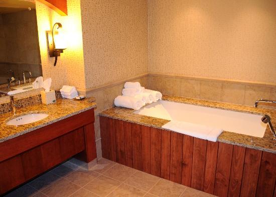 Seven Springs Mountain Resort Grand Suite Master Bathroom