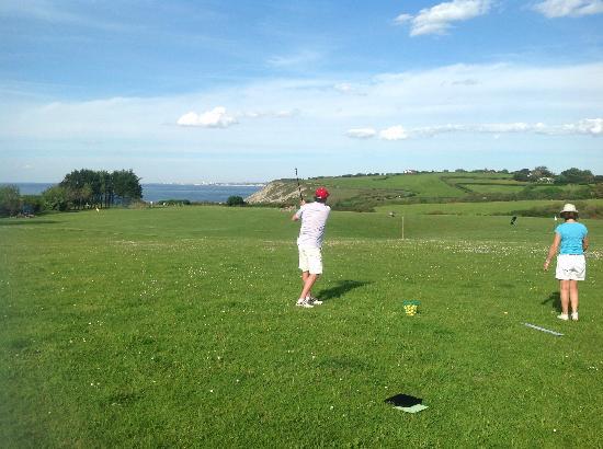 Dioxka Golf Academie : Practice de la Corniche Urrugne