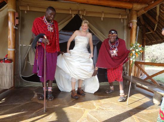 Severin Safari Camp: Outside Suite