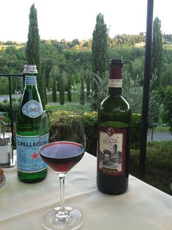 Ristorante Da Pode at Hotel Sovestro: Our view at the Pode