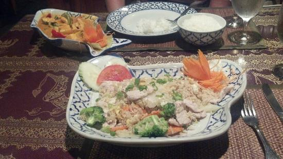 Royal Orchid: Our delicious meal!