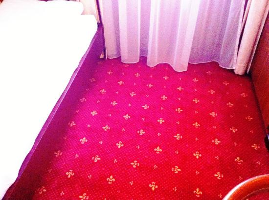 Hotel Weisses Kreuz: Carpeting