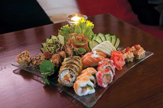 Sushissimo: Os pratos do chefe são sempre variados e se numa outra visita queremos repetir o chefe nem sempr