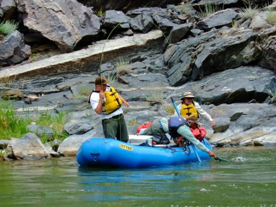 RIGS Adventure CO Fly Shop and Guide Service: Gunnison Gorge Float Fishing RIGS Adventure Co. Ridgway Colorado