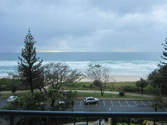 Oceana on Broadbeach: View from the balcony