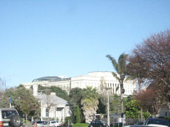 View of museum from Parnell
