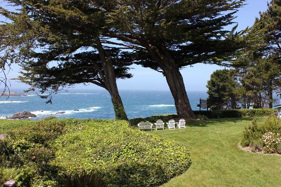 Agate Cove Inn Hotel: Stunning ocean views