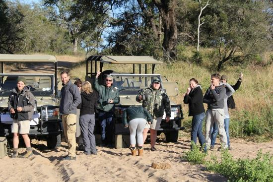 Rhino Post Safari Lodge: Great company on the game drives.