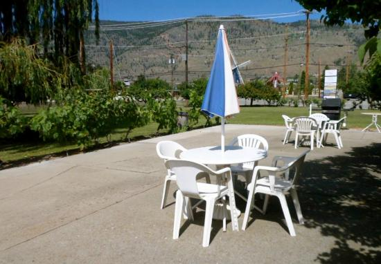 Adriatic Motel: Barbeque Area