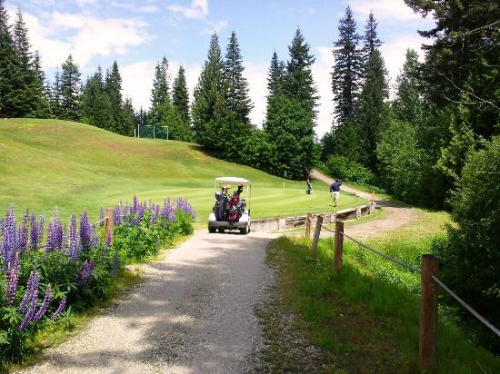 Kahler Glen Golf & Ski Resort: beautiful day out