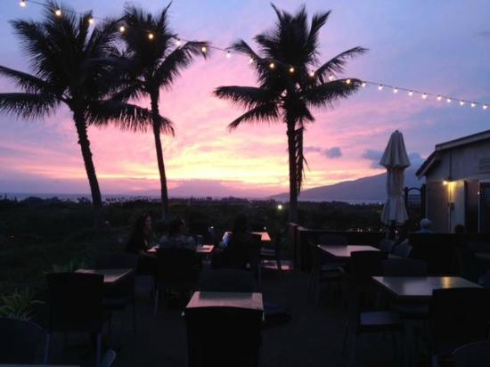 Kono's on the Green : Sunset view from our Patio