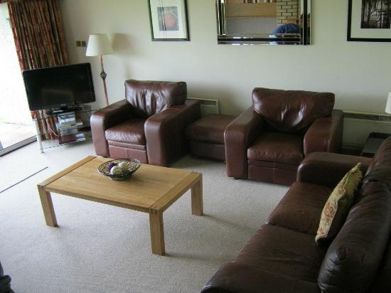 Kilconquhar Castle Estate : Sunken Living Room