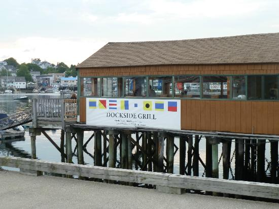 Dockside Grill: Best place to have lobster in Boothbay Harbor, ME