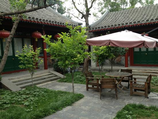 Beijing Sihe Courtyard Hotel: Courtyard great place to relax