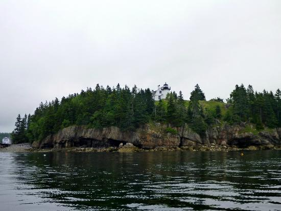 Sail Acadia: Views of the island before the rain.