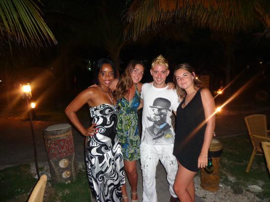 Sol Cayo Largo: Con Niuri y Matiel de entretenimiento!