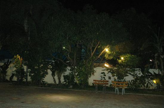 Check Inn Siem Reap: Garden at Night Time