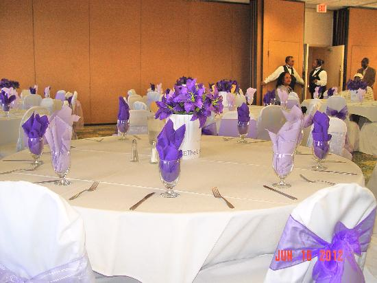 Stadium Hotel: El Palacio Hotel Staff Did A Great Job Setting the Scene for a Memorable Graduation Banquet Part