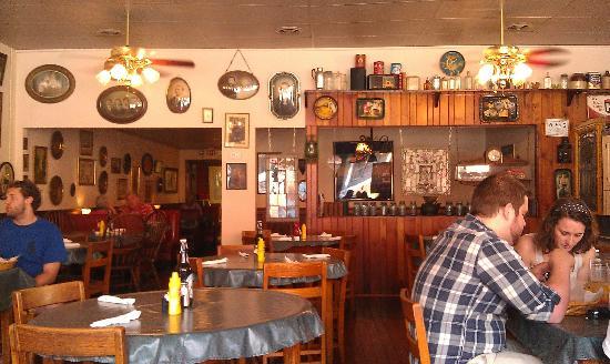 Jimmy Macs Restaurant Inside