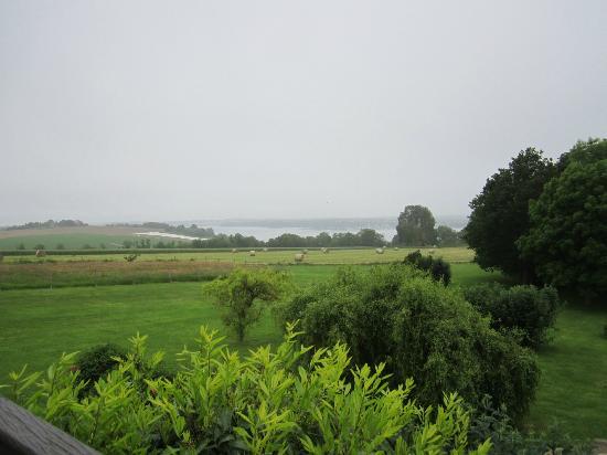 Manoir de Rigourdaine : view from our room
