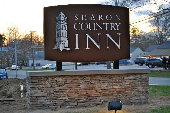 Sharon, CT: If you need a place to stay, don't pass by this sign!
