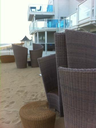 Blue - Inn on the Beach: Gorgeous, private beach area