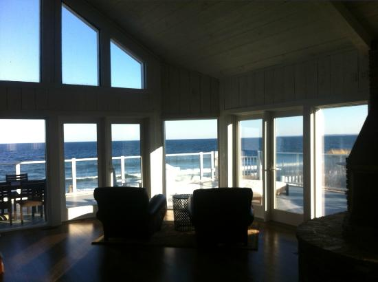 Blue - Inn on the Beach: View from the main living area