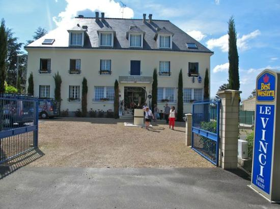BEST WESTERN Le Vinci Loire Valley: entrancce