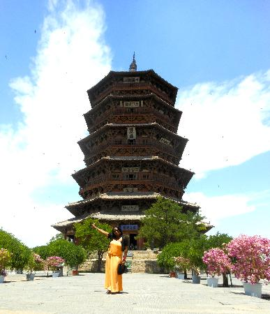 Sakyamuni Pagoda Tower