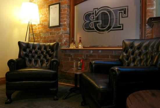 TGB Bar & Restaurant: Chesterfield Couches dotting around TGB
