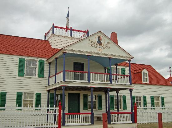 Fort Union Trading Post: Bourgeois House