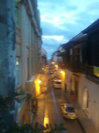 La Passion Hotel Lounge: Street