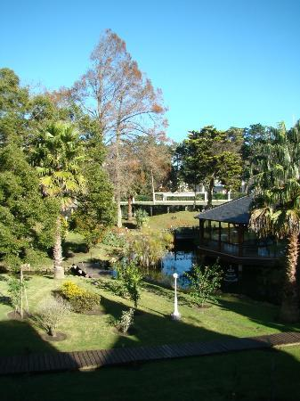 Parque Hotel Jean Clevers : Jardim principal