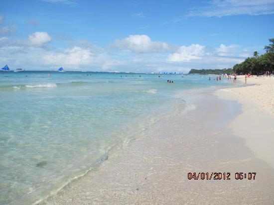 White Beach: вайт бич январь 2012