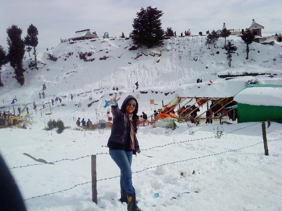 Kufri Ski Resort : enjoying..