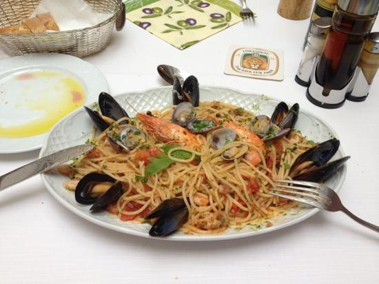 Pizzeria Fornelli: my order